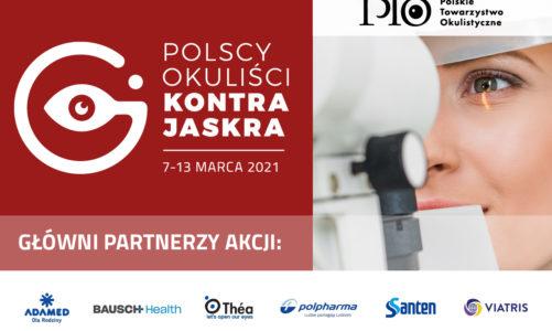 Światowy Tydzień Jaskry 7-13 marzec 2021 r  bezpłatne badania